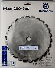 "Genuine OEM Husqvarna 578443101 Wood Cutting Blade w 1"" Arbor   Maxi S 200-26"