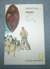 National Geographic MAP Close Up #14 Alaska A Last Frontier USA 1975