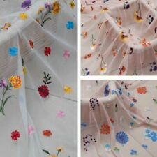 Tissus à motif Floral en dentelle pour loisirs créatifs