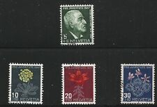 Switzerland Scott #B166-69, Singles 1947 Complete Set FVF Used