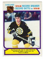 1X RAY BOURQUE 1980 81 OPC #2 RC Rookie RB EXNM O Pee Chee RB Lots Available