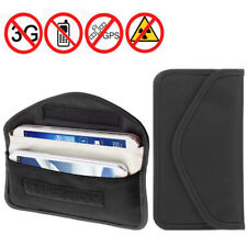 Car Key Signal Blocker Case Faraday Fob Keyless Entry Bag Card Pouch Guard Large