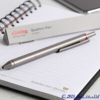rOtring Four-In-One QUATTRO Ballpoint Pen Red,Black,Blue,Mp 0.5mm Germany Pencil