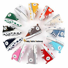 Classic Baby Boy Girl Crib Shoes Infant Sneakers Casual Shoes Size 1 2 3