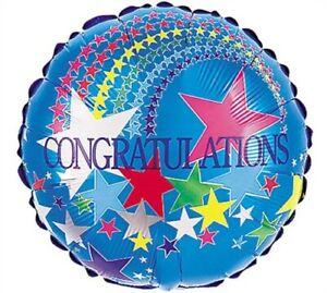 Congratulations 18-Inch Foil Balloon