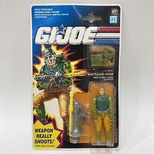 1992 Hasbro Gi Joe European Exclusive Weapon Really Shoots Captain Grid Iron MOC