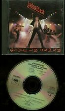 Judas Priest Unleashed In The East (Live In Japan) CD Early US press no ifpi