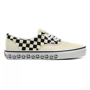 Vans Era  (Vans BMX) White/Black Skate Shoes Trainers UK 8.5 and UK 9