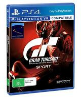 GT Gran Turismo Sport Car Racing Game Sony Playstation 4 PS4 PS VR Compatible