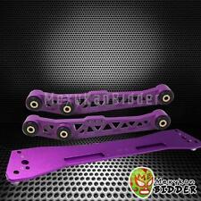 1994-2001 Acura Integra Rear Lower Control Arm Subframe Brace Tie Bar Kit Purple