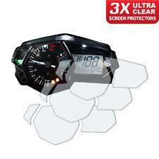 3 x panel de Yamaha R3/MT-03 2015+ protector de pantalla: Ultra Claro