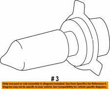 90981-13091 Toyota Bulb(for headlamp, no.1) 9098113091, New Genuine OEM Part