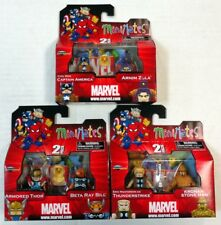 MARVEL MINIMATES SERIES 42 SET CAPTAIN AMERICA ARNIM ZOLA BETA RAY BILL THOR ++