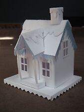 Tim Holtz Sizzix village logement + Hiver Die Cut Kit Precut Building Feutre Neige