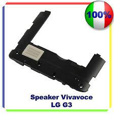 CASSA SUONERIA RINGER LG G3 G850 VIVAVOCE BUZZER ALTOPARLANTE - NERO