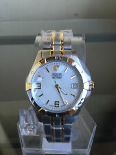 NIB WENGER 79093 Swiss Military Elite Two Tone Ladies Swiss Watch SRP $300