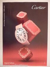 Cartier Baignoire Collection Watch PRINT AD - 2011 ~~ wristwatch