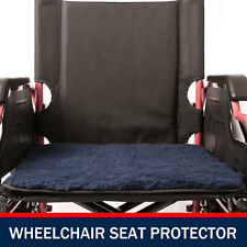Wheelchair Seat Protector Pillow Cover Cushion Wheel Chair Soft Protect Blue