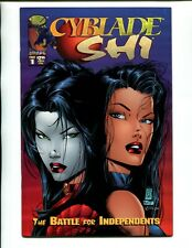 CYBLADE/SHI: THE BATTLE FOR INDEPENDENTS 1 VF/NM W PGS VOLUME 1!! 1ST WITCHBLADE