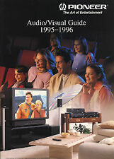 Pioneer Katalog Prospekt Audio/Visual 1995/96 VSX-804 PDS-904 PD-95/77 D07 C/M7
