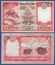 NEPAL 5 Rupees (2008)  UNC   P. 60