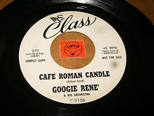 GOOGIE RENE - CAFE ROMAN CANDLE - COOL IT AT THE   / LISTEN - LATIN JAZZ POPCORN