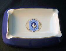 Vintage REPUBLICA ARGENTINA Policia Federal Ceramic Ashtray