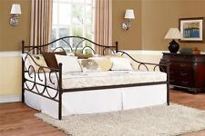 Full Daybed Bronze Metal Day bed Sofa Loveseat Living Room Bedroom Platform