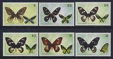 2002 PAPUA NEW GUINEA BUTTERFLIES SET OF 6 FINE MINT MNH/MUH