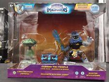 NIB Skylanders Imaginators Cursed Tiki Temple Level Pack Life Crystal Wild Storm
