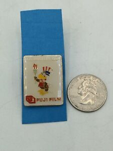 Vintage 1984 Olympic Fujifilm Los Angeles Pin