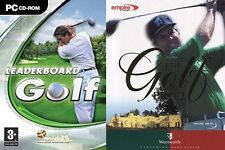 leaderboard golf & the golf pro 2 wentworth new&sealed