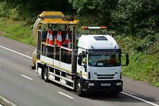 Truck Photo 12x8 - Iveco Eurocargo - Highways england - WP14 XHY