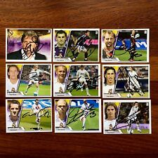 2007-08 Real Madrid Trading Cards Hand Autographs Edic Estadio Rare Colección