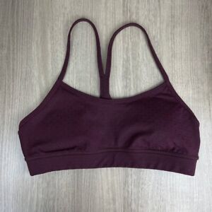 Lululemon Flow Y Sports Bra Purple