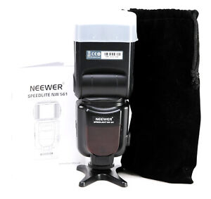 Neewer NW 561 Speedlite Flash Universal Mount Flashgun For DSLRs - Universal Fit