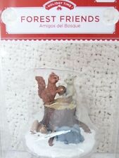 """""""Forest Friends"""" Victorian Christmas Village Figurine by Holiday Time"""