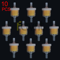 10PCS Fuel Filter For TOMBERLIN CROSSFIRE 150 R YERF DOG SPIDERBOX 150CC GO KART