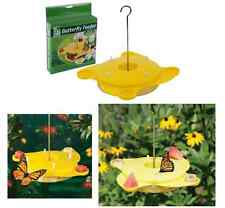 Garden Butterfly Insect Nectar Feeder Feeding Station Simulates Blooming Flowers