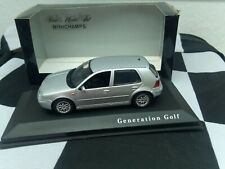 VW Golf IV, Generation Golf, Minichamps