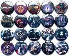 KAMELOT Button Badges Pins Black Halo Epica Karma Haven Silverthorn Lot of 20