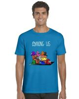 Among Us Kids T-Shirt Tee Top Funny Gaming Gamer Boys Girls (Sofa)