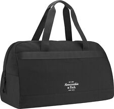 Abercrombie & Fitch Navy Mens Holdall Duffle Weekend Bag travel gym overnight.