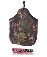 Tough-1 Camo Tough Timber Print Nylon Hay Tote Bag Western English Horse Tack