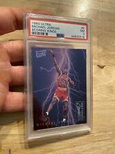 Michael Jordan Scoring Kings PSA 7 Insert Card 1993 Ultra #5 HIGH END Tough RARE