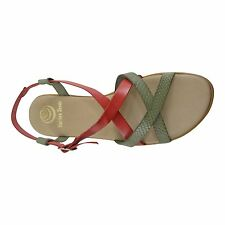 Size 11 (EU 43 / UK 9) Strappy Flat Sandals Made in Spain