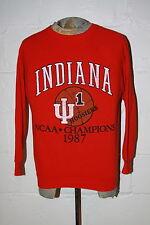 VTG Indiana University Hoosiers 1987 National Champion Crewneck Sweatshirt L