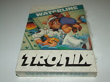 WATERLINE  by TRONIX (DISK) Commodore 64 C64 RARE! NEW old stock (split seal)