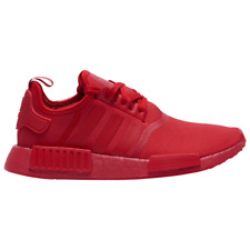 Brand New Men's Adidas Originals NMD R1 Athletic Basketball Sneakers | Red White
