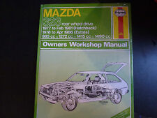 Haynes Car Manual BRAND NEW 370 Mazda 323 rwd 1977 - 1986